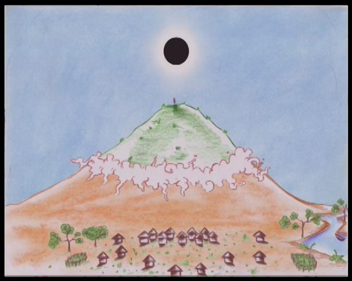 Eclipse montagne 1