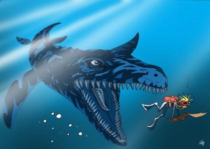liopleurodon vignette